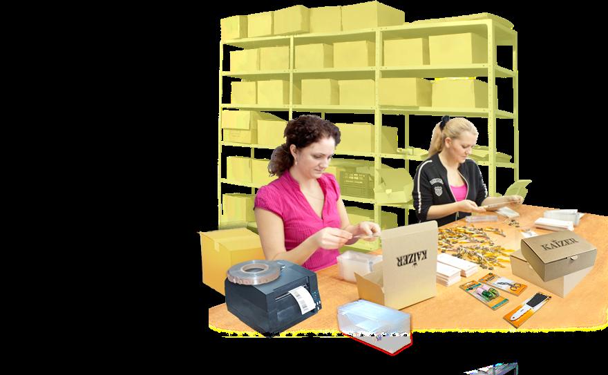 Быстрая и профессиональная переупаковка любых партий товаров